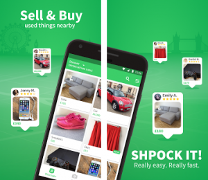 shpock apps where you can sell your furniture